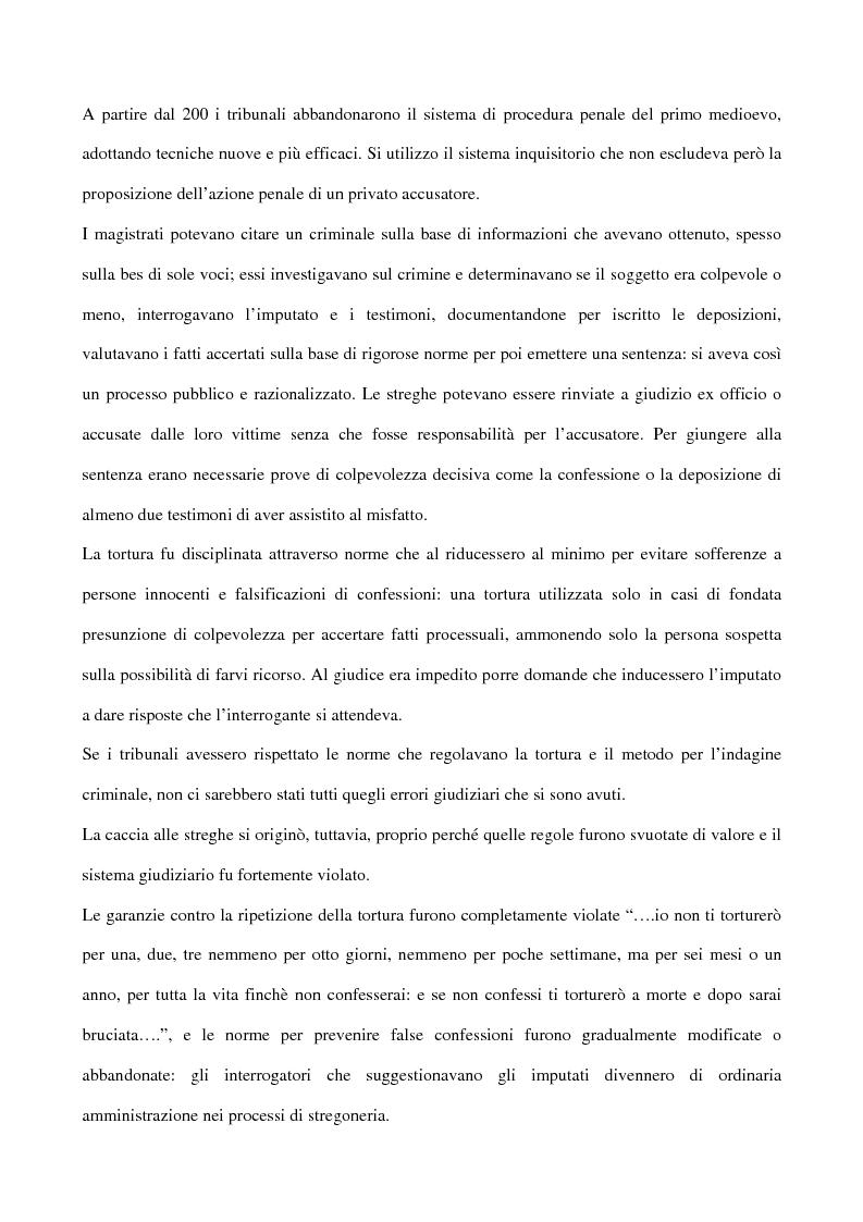 Anteprima della tesi: I processi alle streghe: la disputa settecentesca, Pagina 9