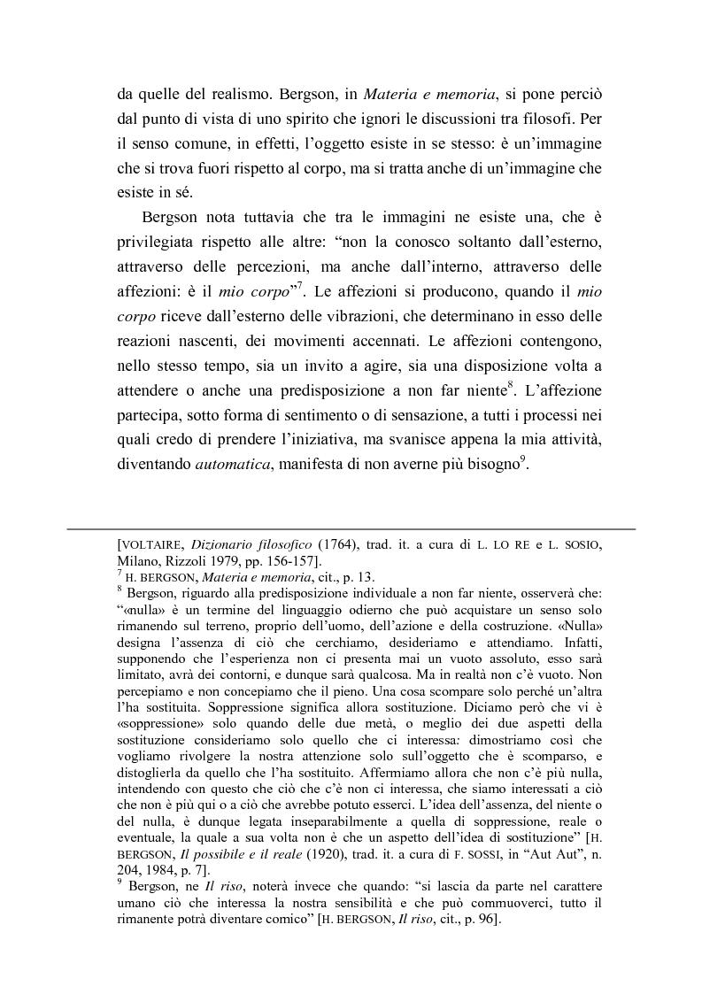 Anteprima della tesi: Intorno al concetto di comico in Henri Bergson, Pagina 5