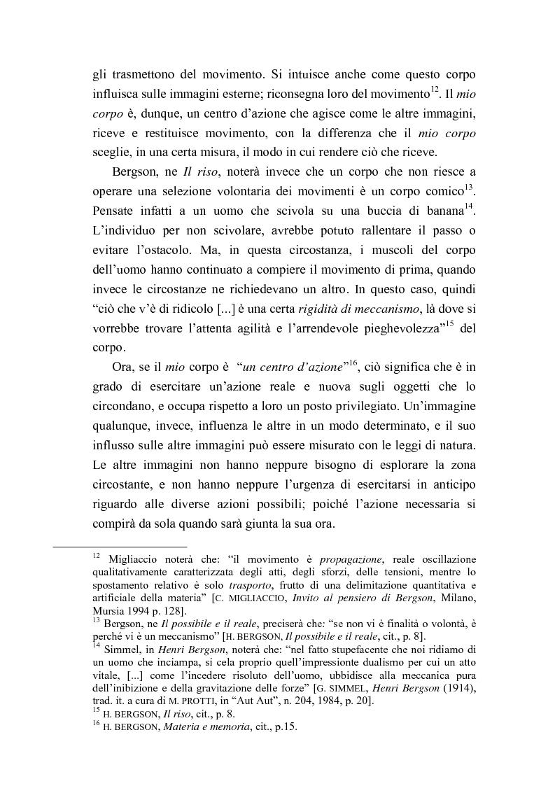 Anteprima della tesi: Intorno al concetto di comico in Henri Bergson, Pagina 7