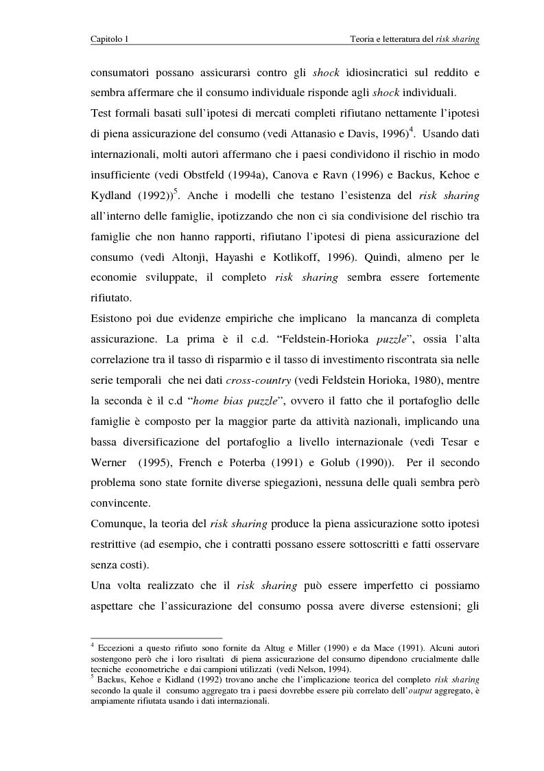 Anteprima della tesi: Uno studio empirico sui canali di diversificazione del rischio: il caso dei paesi dell'Unione Monetaria Europea, Pagina 8