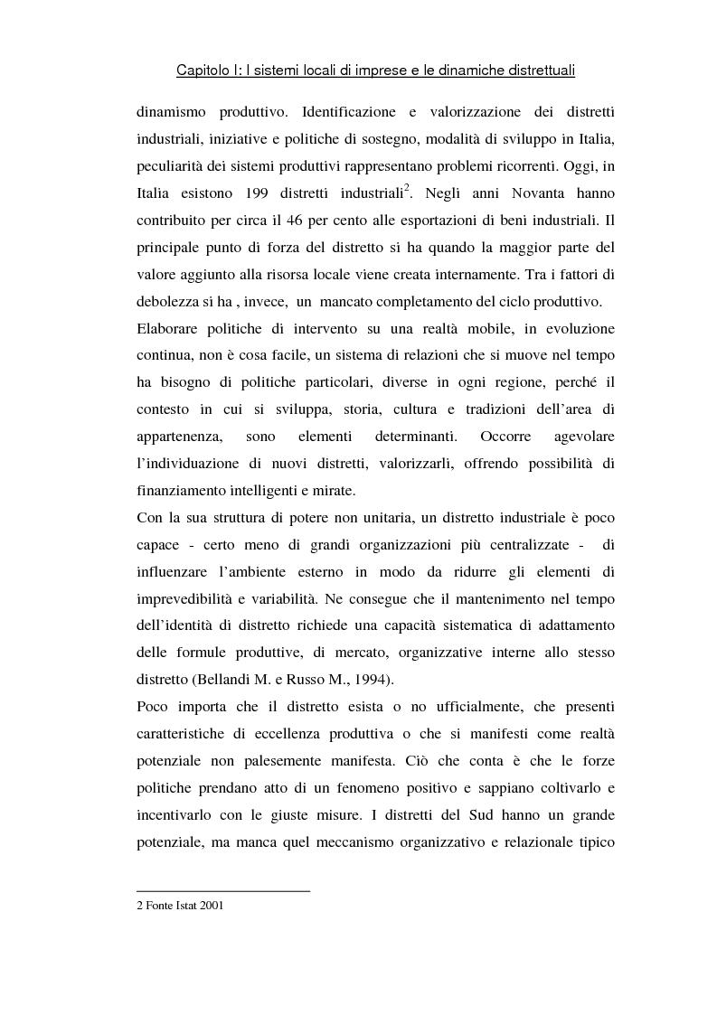 Anteprima della tesi: Sviluppo di sistemi locali d'imprese basati sull'information and communication technology: il caso Euro Sistemi S.r.l., Pagina 3