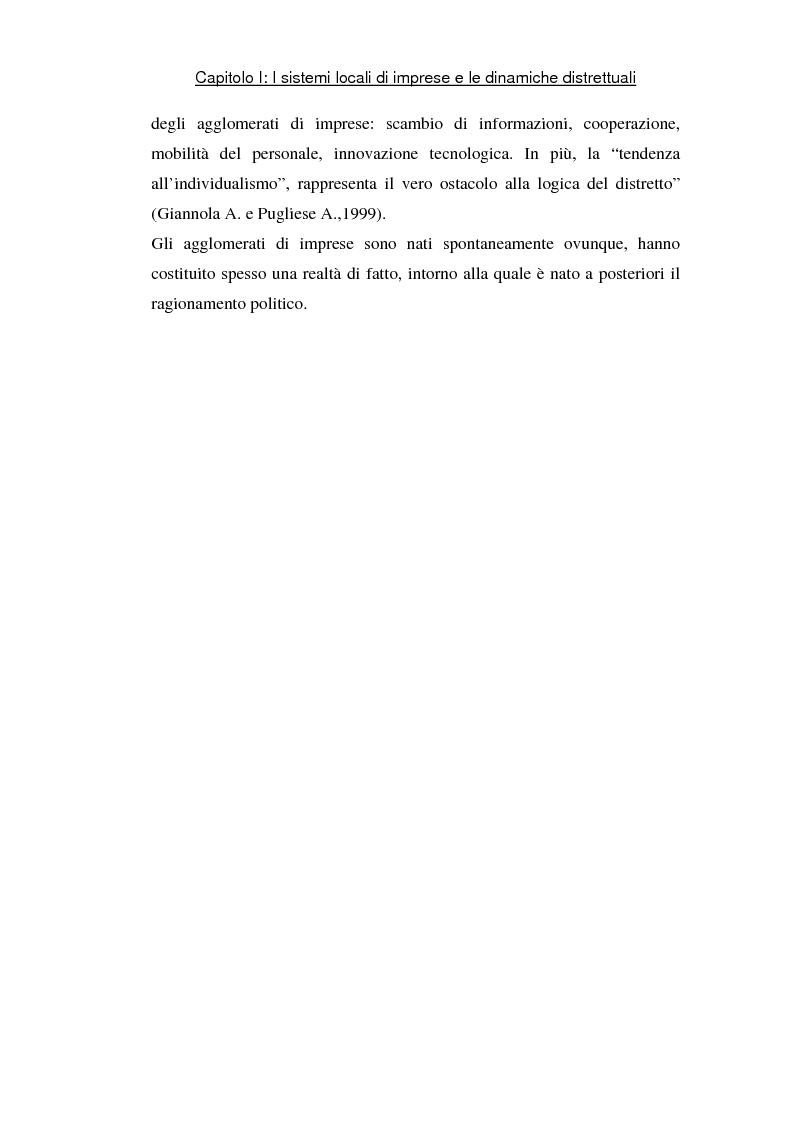 Anteprima della tesi: Sviluppo di sistemi locali d'imprese basati sull'information and communication technology: il caso Euro Sistemi S.r.l., Pagina 4