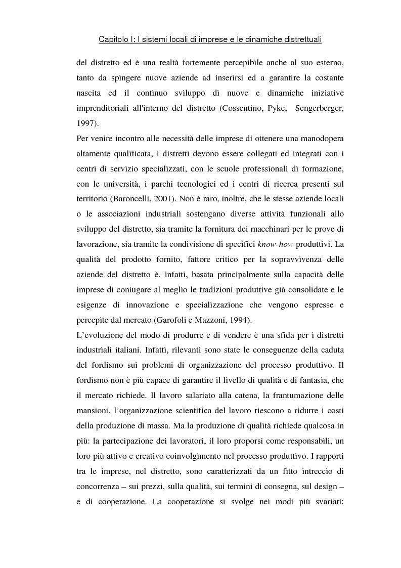 Anteprima della tesi: Sviluppo di sistemi locali d'imprese basati sull'information and communication technology: il caso Euro Sistemi S.r.l., Pagina 7