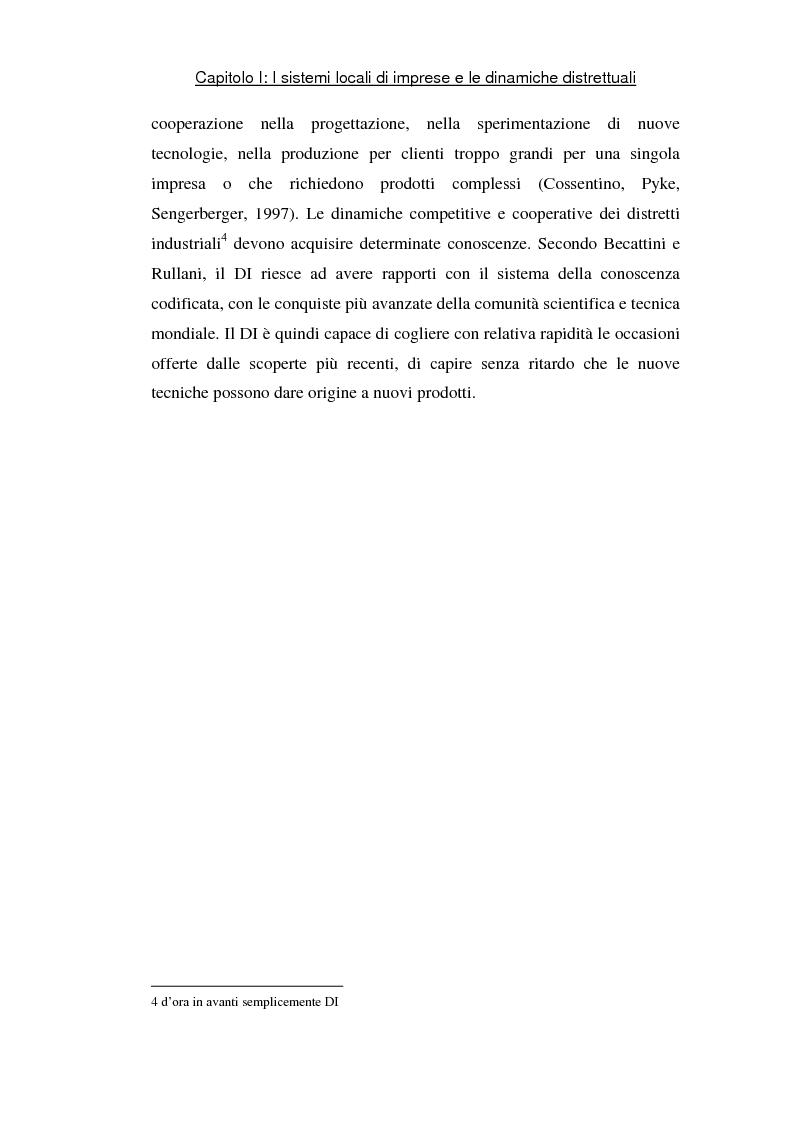 Anteprima della tesi: Sviluppo di sistemi locali d'imprese basati sull'information and communication technology: il caso Euro Sistemi S.r.l., Pagina 8