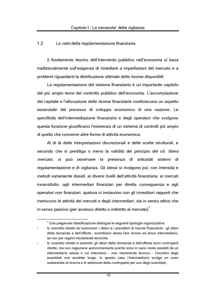 Anteprima della tesi: Regolamentazione finanziaria e vigilanza globale, Pagina 10