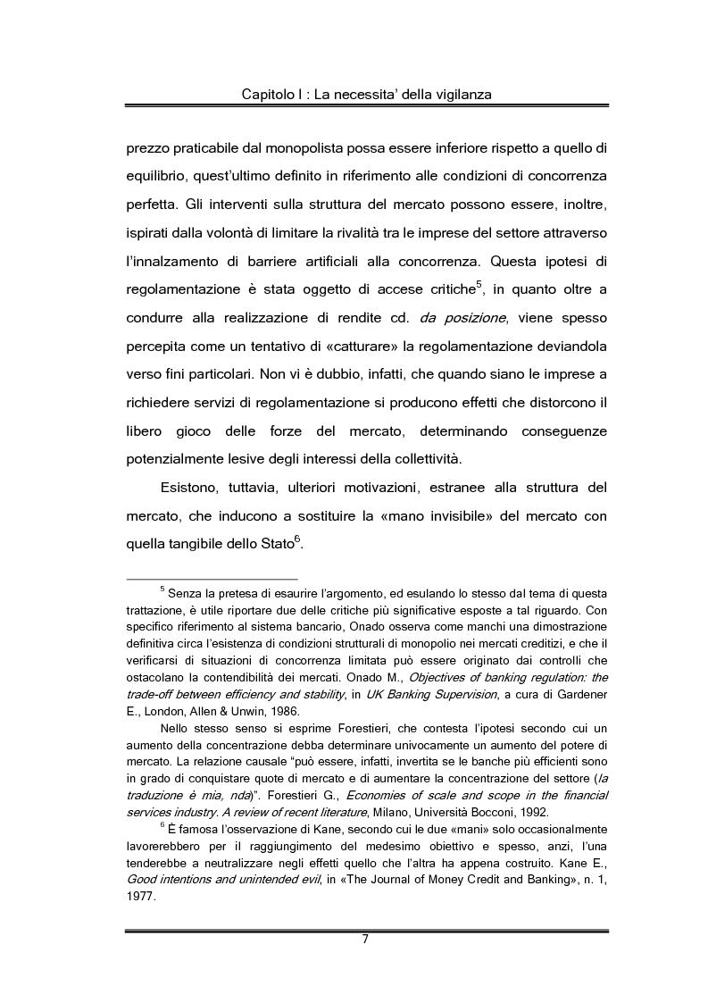 Anteprima della tesi: Regolamentazione finanziaria e vigilanza globale, Pagina 7