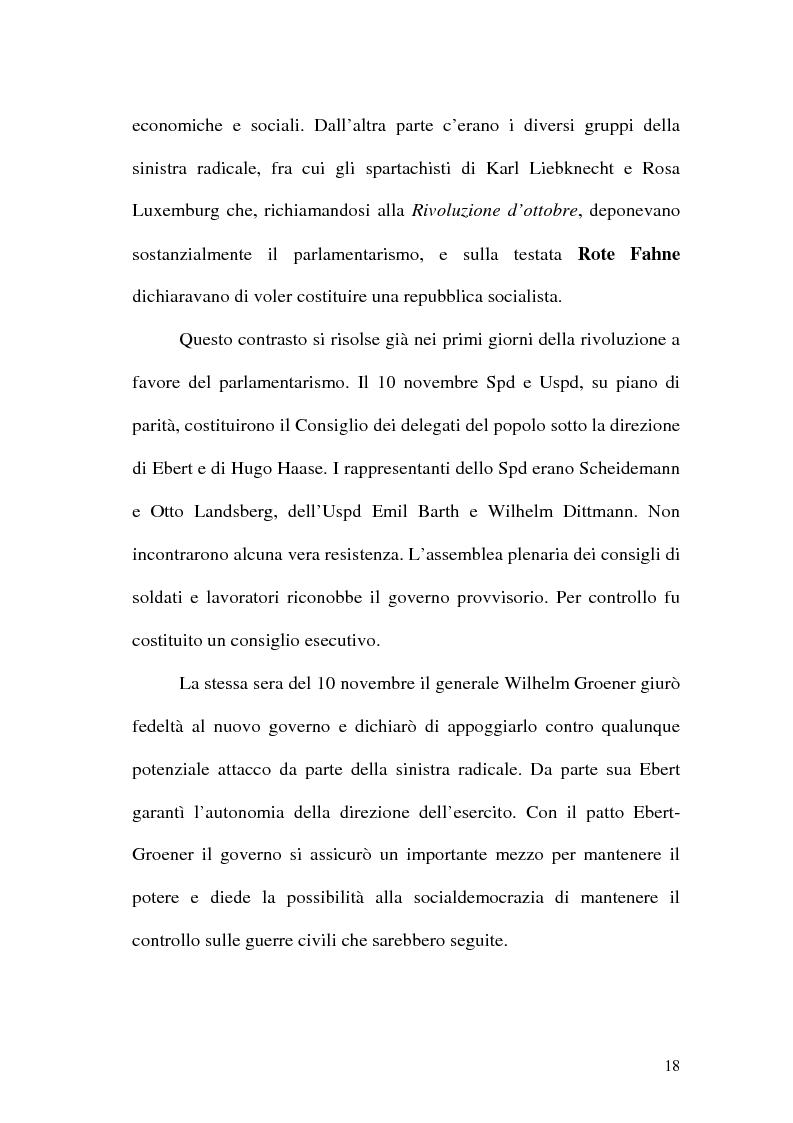 Anteprima della tesi: La figura di Hitler in alcuni quotidiani tedeschi (1923-1933), Pagina 15