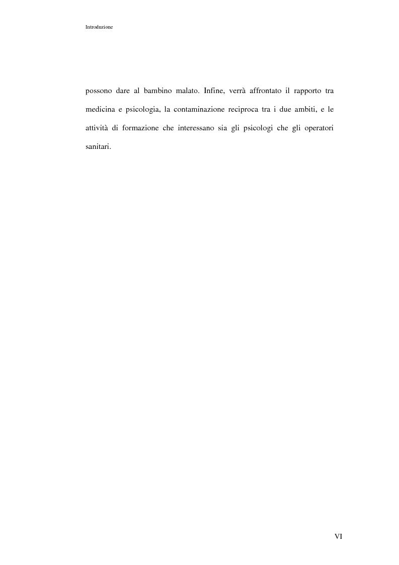 Anteprima della tesi: L'ospedalizzazione infantile: una svolta culturale, Pagina 6