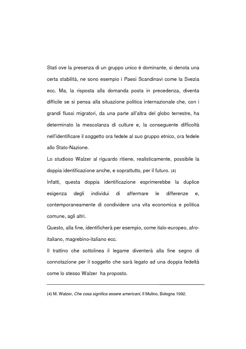 Anteprima della tesi: La società multietnica, Pagina 6