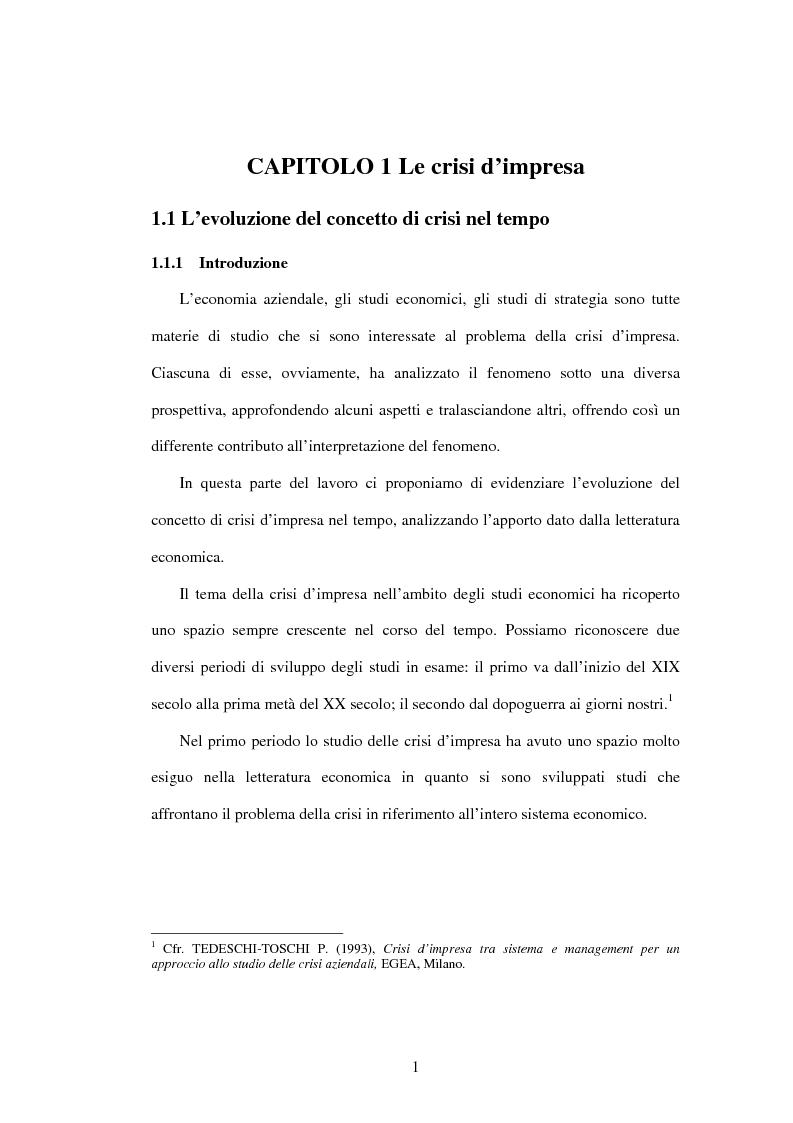 Anteprima della tesi: Il ruolo strategico degli intangibles nel crisis management, Pagina 4