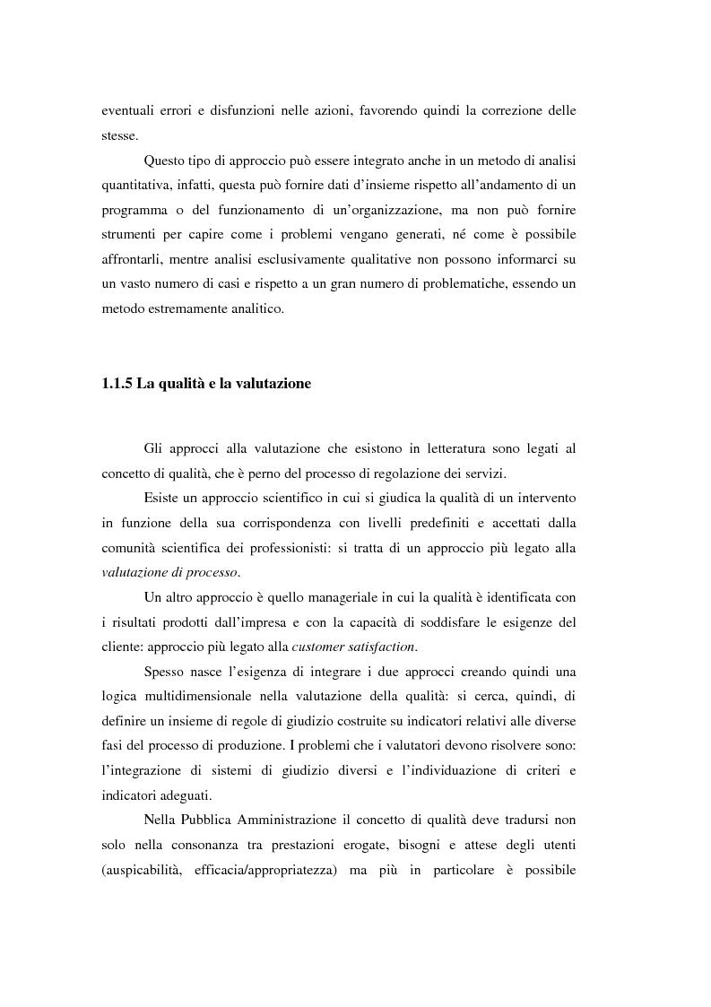 Anteprima della tesi: Nuove frontiere per la valutazione: un possibile approccio per un progetto di iniziativa comunitaria, Pagina 10