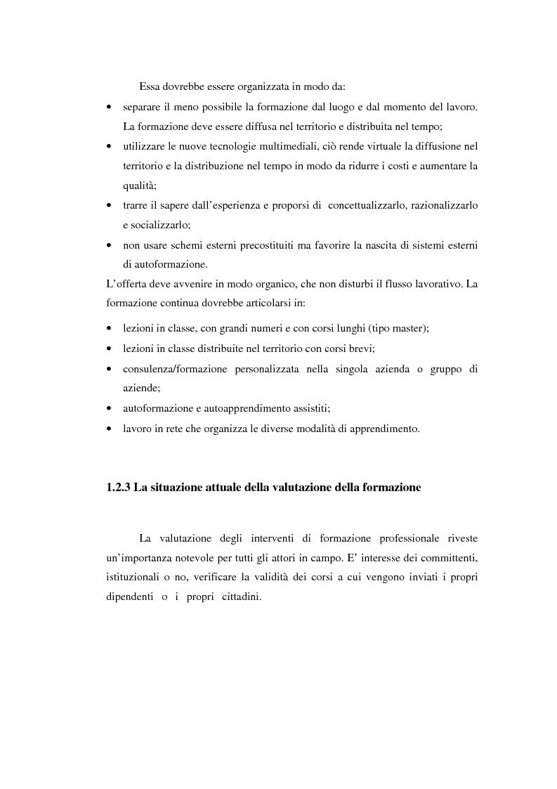 Anteprima della tesi: Nuove frontiere per la valutazione: un possibile approccio per un progetto di iniziativa comunitaria, Pagina 15