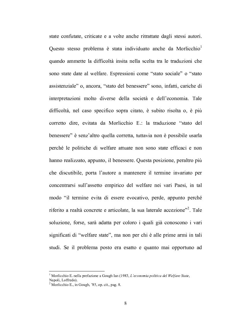 Anteprima della tesi: Nascita ed evoluzione del concetto di Welfare State, Pagina 8