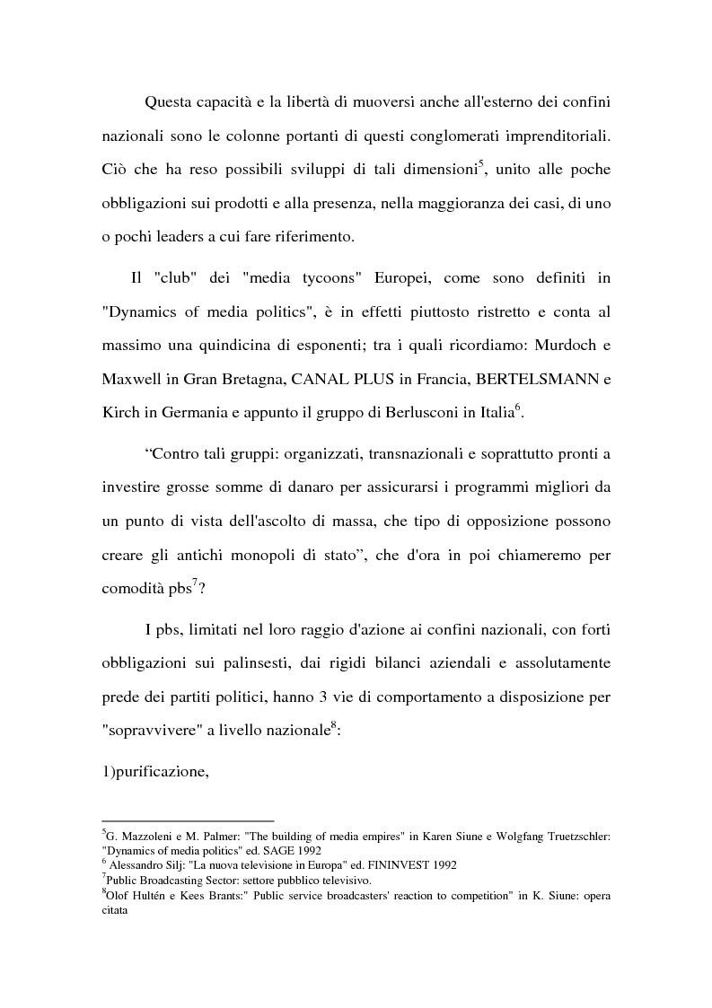 Anteprima della tesi: La BBC come modello di sviluppo per i servizi pubblici televisivi europei, Pagina 9