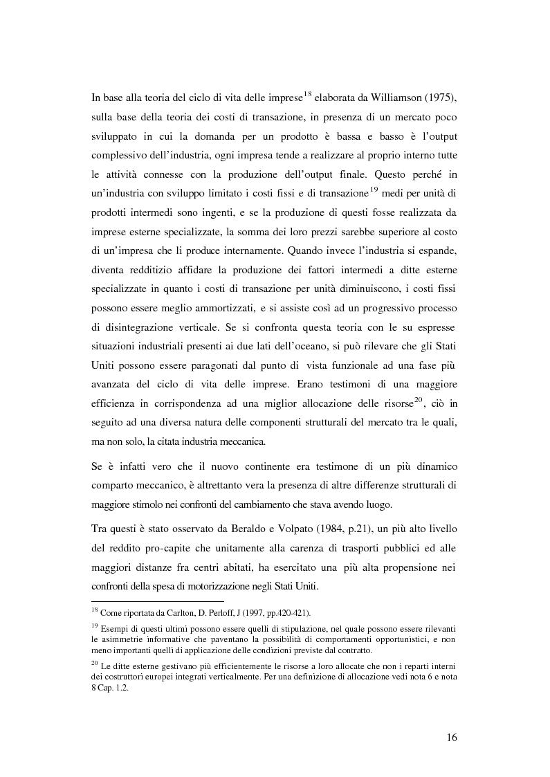 Anteprima della tesi: Evoluzione organizzativa e rivoluzione normativa nel settore auto: market pull e regolamento (CE) n. 1400/2002, Pagina 10