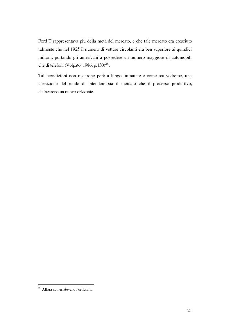 Anteprima della tesi: Evoluzione organizzativa e rivoluzione normativa nel settore auto: market pull e regolamento (CE) n. 1400/2002, Pagina 15