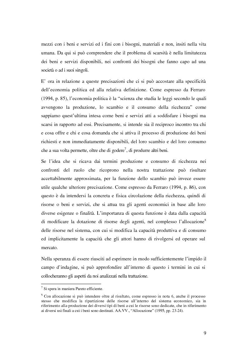 Anteprima della tesi: Evoluzione organizzativa e rivoluzione normativa nel settore auto: market pull e regolamento (CE) n. 1400/2002, Pagina 4