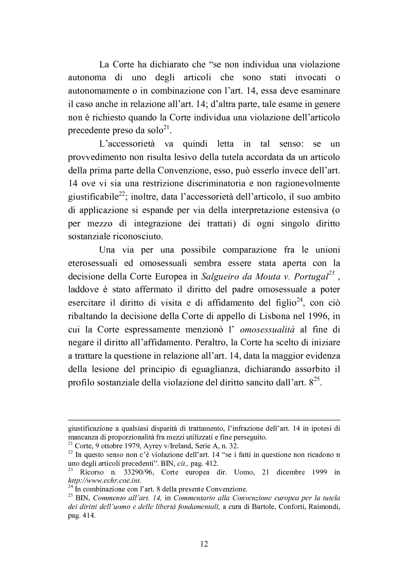 Anteprima della tesi: La convivenza fra persone dello stesso sesso, Pagina 12