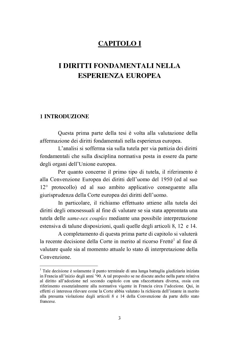 Anteprima della tesi: La convivenza fra persone dello stesso sesso, Pagina 3