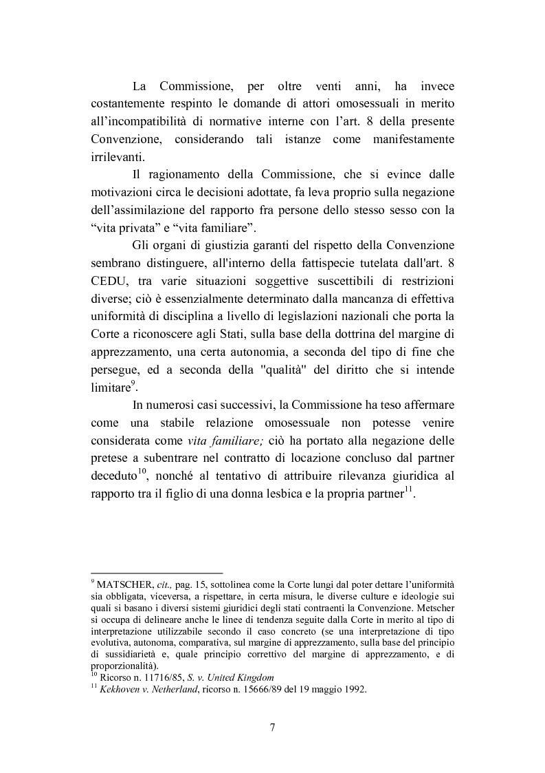 Anteprima della tesi: La convivenza fra persone dello stesso sesso, Pagina 7