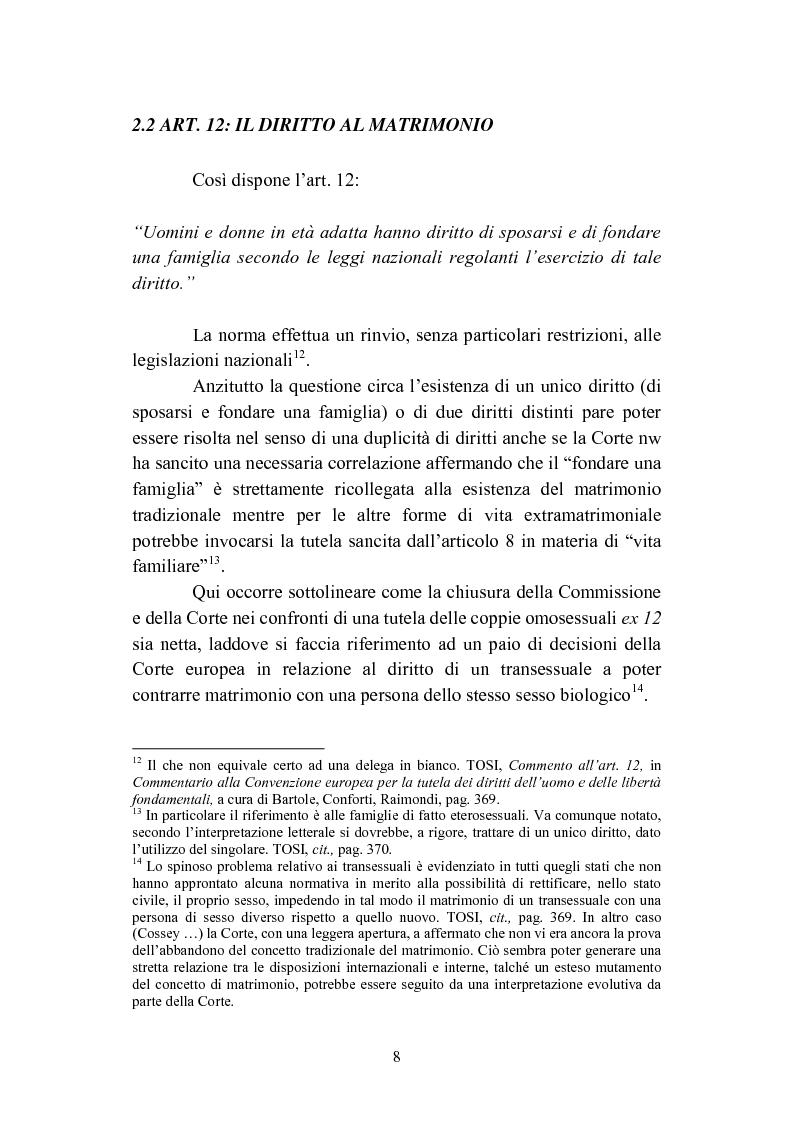 Anteprima della tesi: La convivenza fra persone dello stesso sesso, Pagina 8