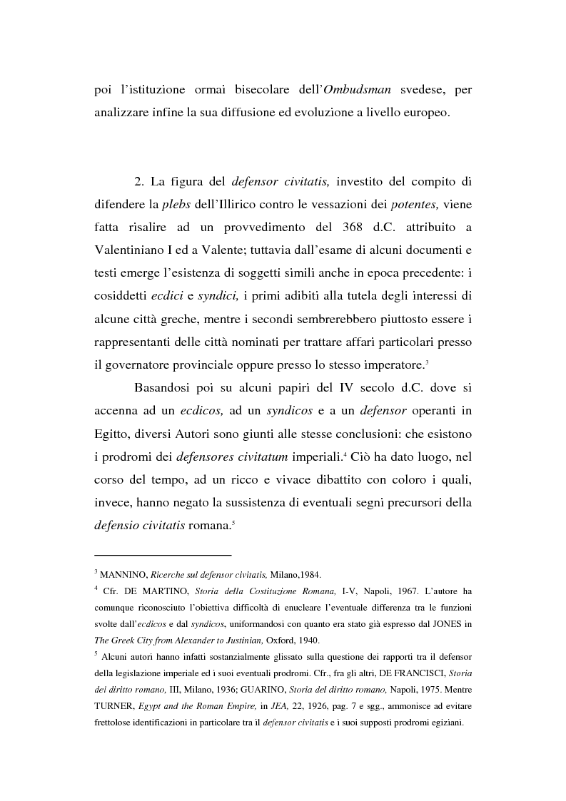 Anteprima della tesi: Il Mediatore europeo e la figura dell'Ombudsman nei Paesi Scandinavi, Pagina 4