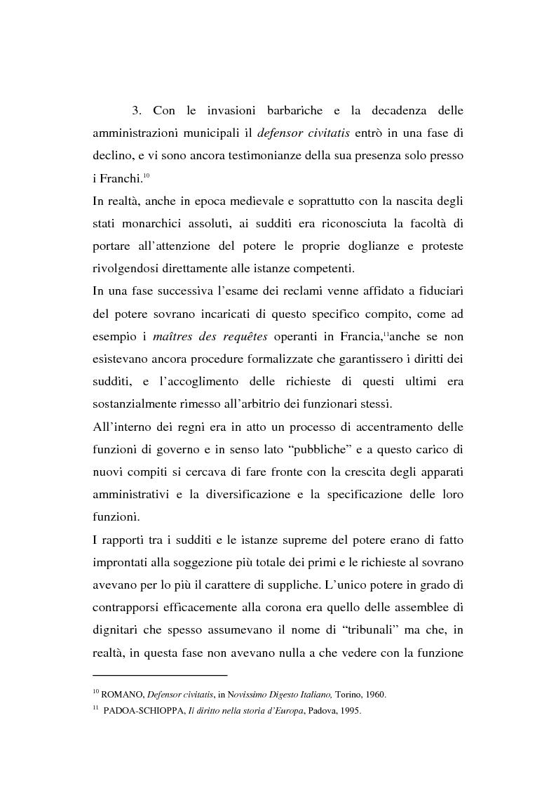 Anteprima della tesi: Il Mediatore europeo e la figura dell'Ombudsman nei Paesi Scandinavi, Pagina 8