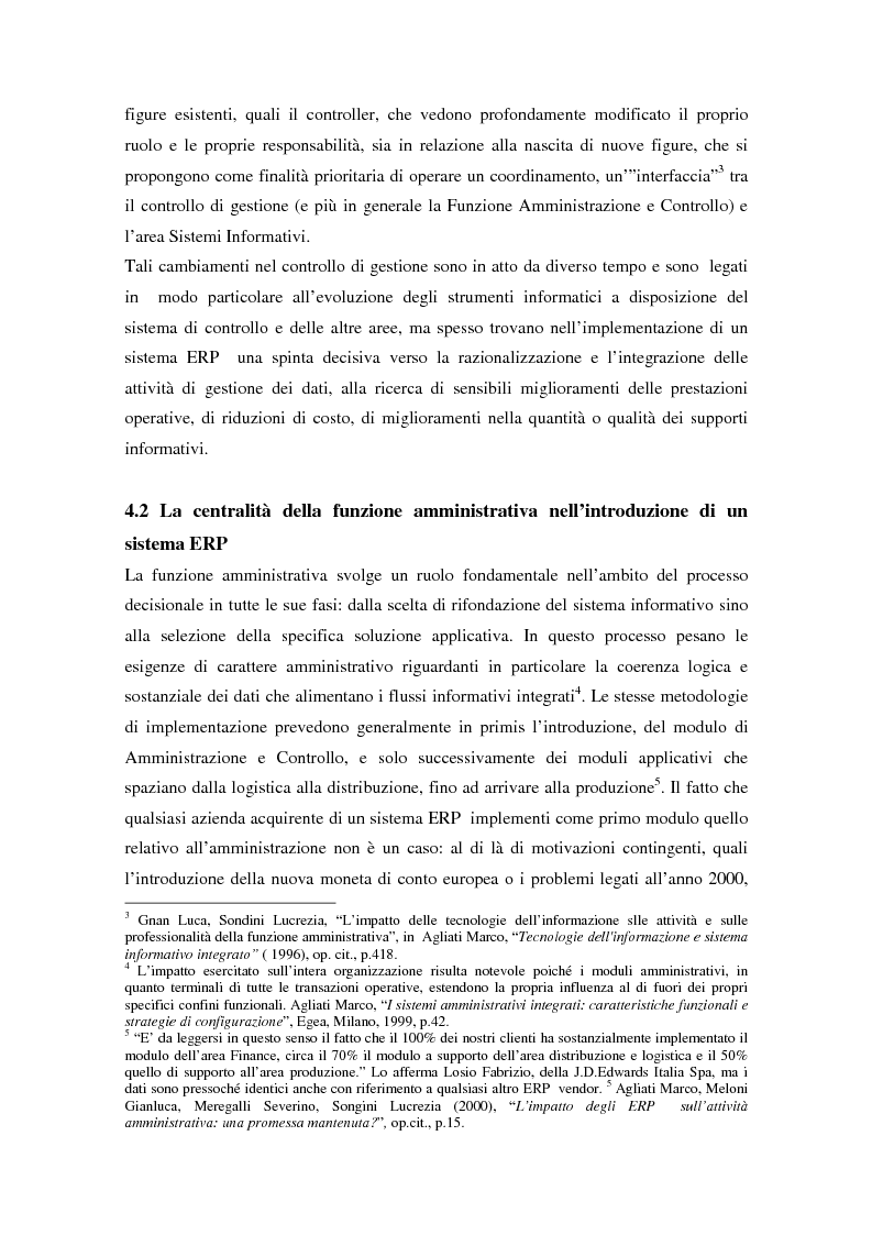 Anteprima della tesi: Il controllo di gestione nell'era digitale: la rilevanza dei sistemi informativi integrati, Pagina 2