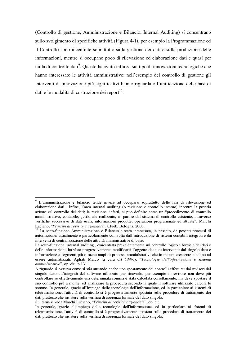 Anteprima della tesi: Il controllo di gestione nell'era digitale: la rilevanza dei sistemi informativi integrati, Pagina 4