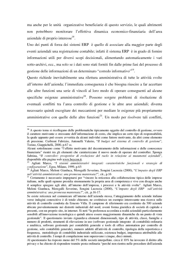 Anteprima della tesi: Il controllo di gestione nell'era digitale: la rilevanza dei sistemi informativi integrati, Pagina 7