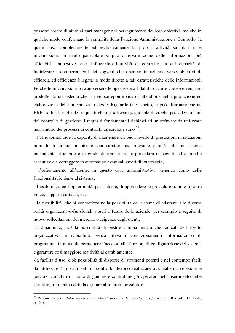 Anteprima della tesi: Il controllo di gestione nell'era digitale: la rilevanza dei sistemi informativi integrati, Pagina 9