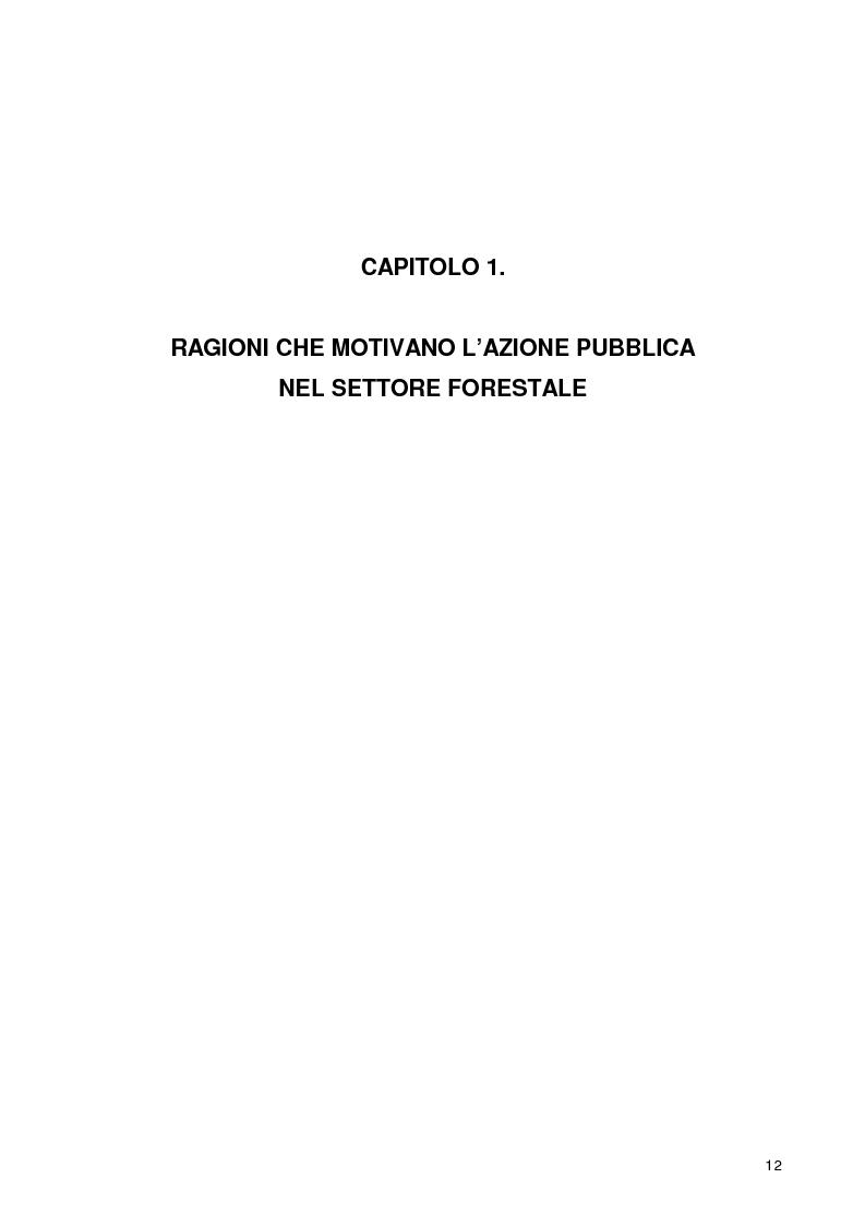 Anteprima della tesi: La gestione dell'intersettorialità nelle politiche di sviluppo del settore forestale di montagna, Pagina 10