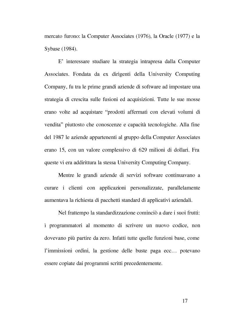 Anteprima della tesi: Strategie competitive nell'industria del software, Pagina 13