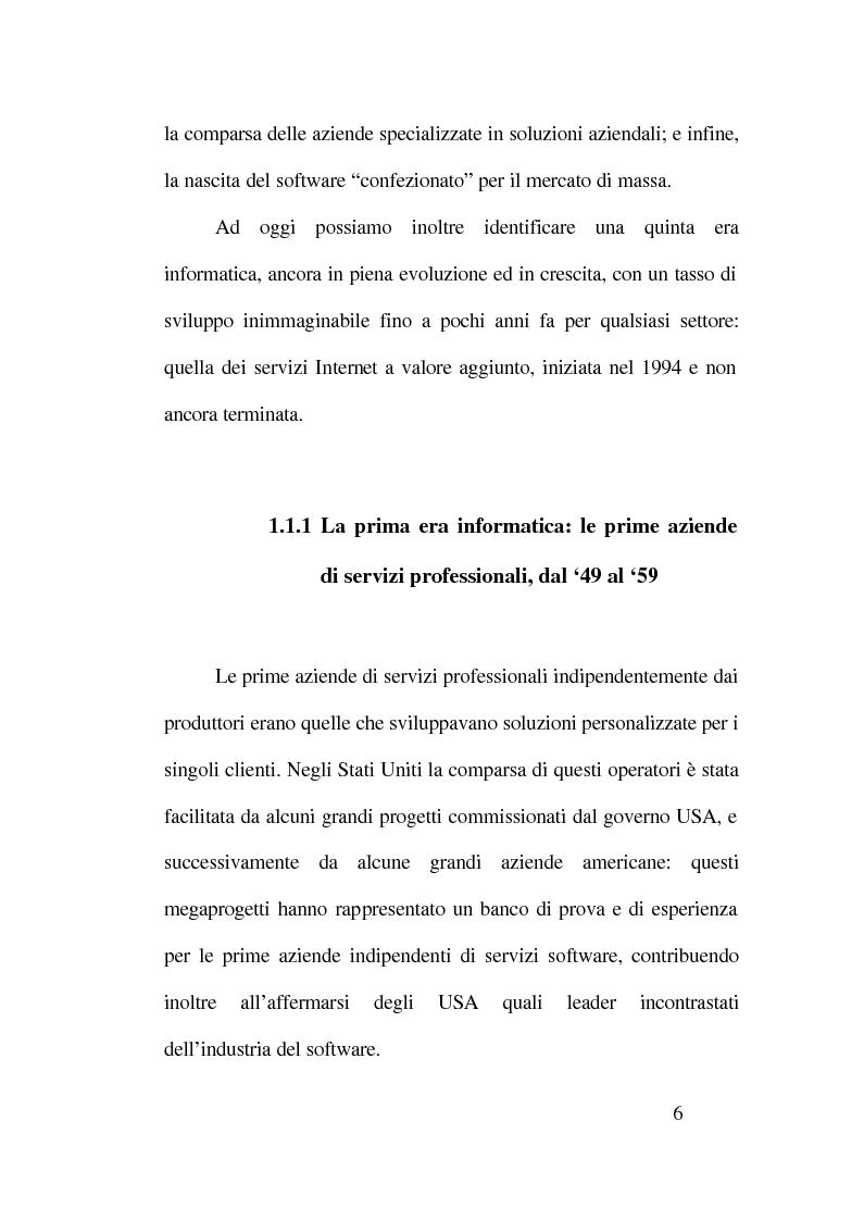 Anteprima della tesi: Strategie competitive nell'industria del software, Pagina 2