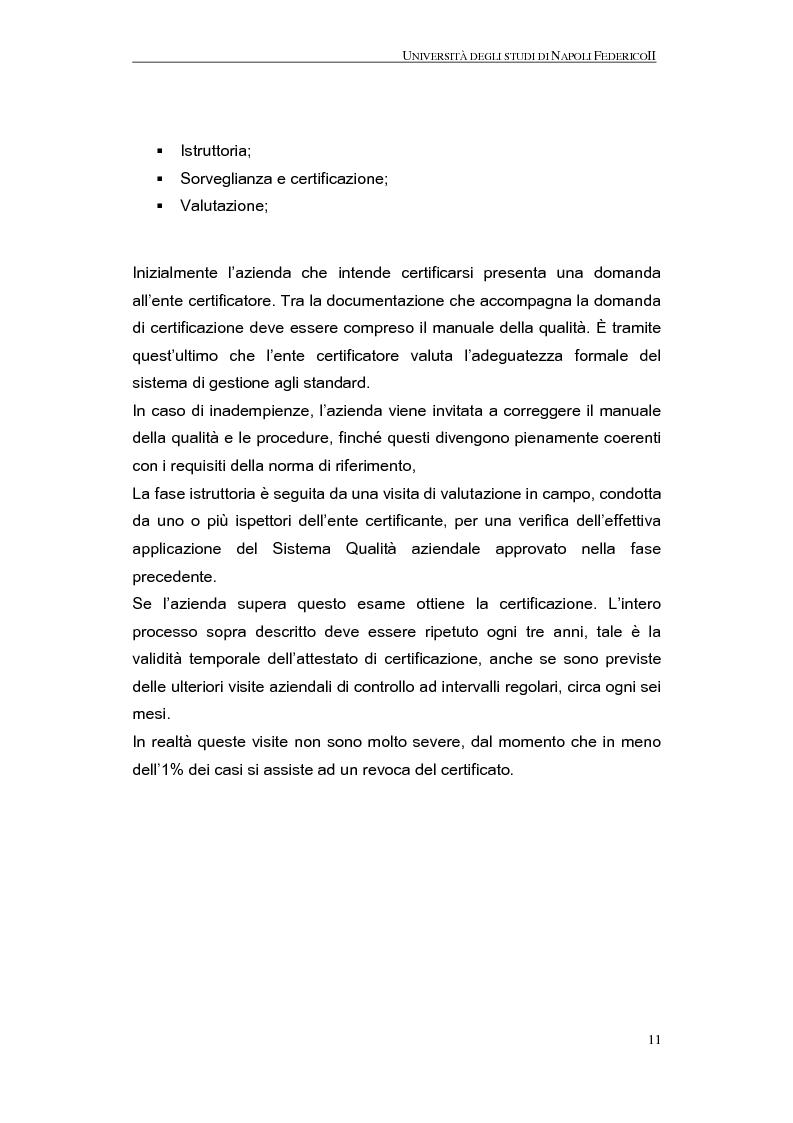 Anteprima della tesi: La qualità nel processo produttivo in una PMI del settore civile, Pagina 9