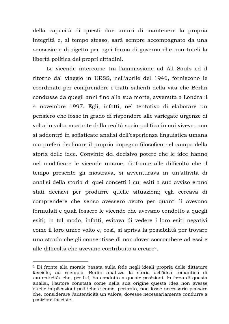 Anteprima della tesi: Isaiah Berlin: idee di libertà, Pagina 3