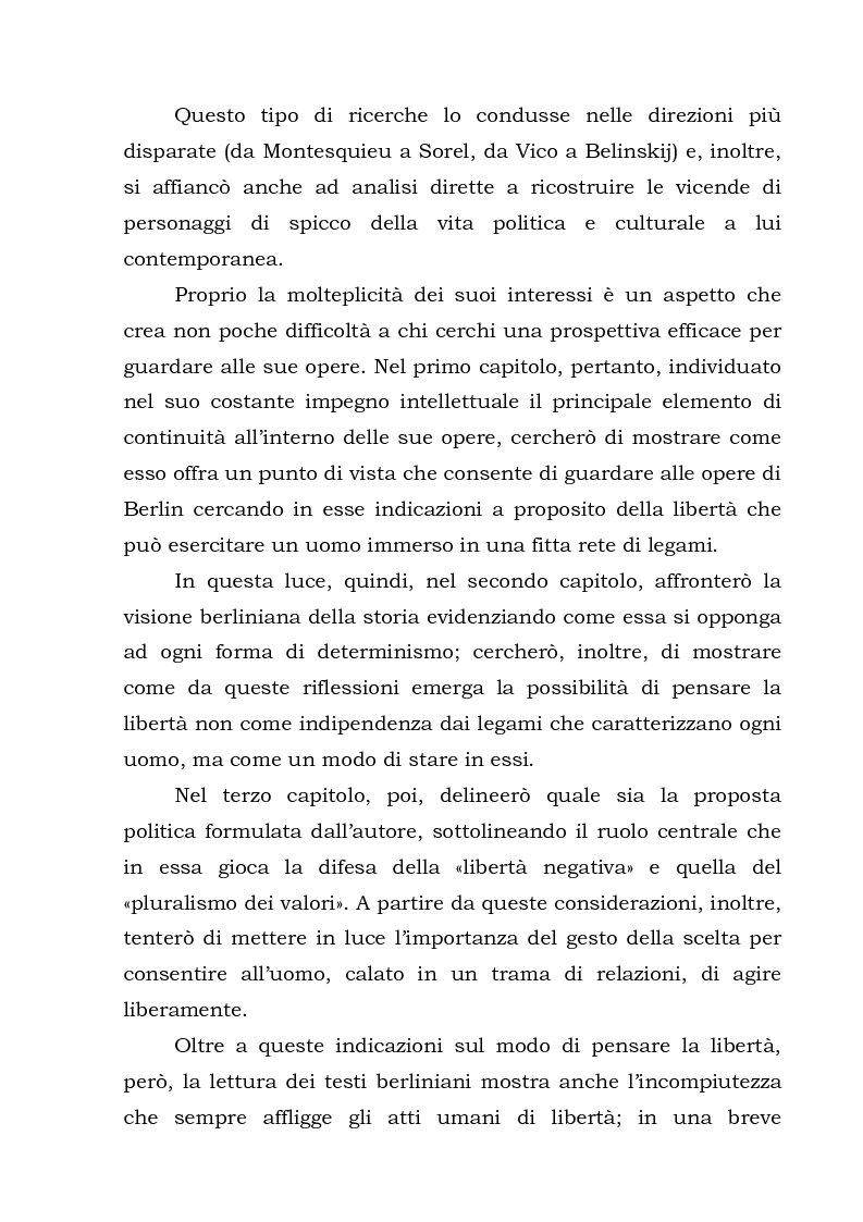 Anteprima della tesi: Isaiah Berlin: idee di libertà, Pagina 4