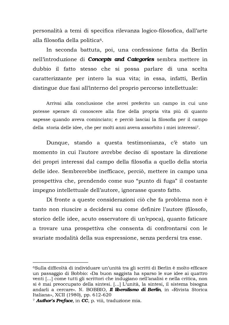 Anteprima della tesi: Isaiah Berlin: idee di libertà, Pagina 8