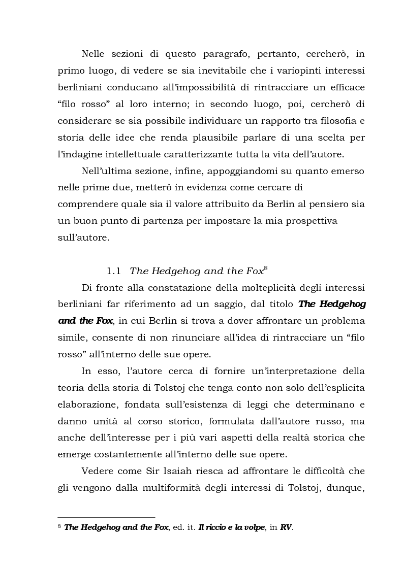 Anteprima della tesi: Isaiah Berlin: idee di libertà, Pagina 9