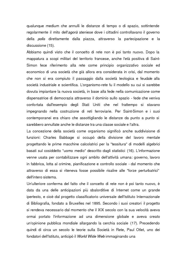 Anteprima della tesi: La società dell'informazione, Pagina 10