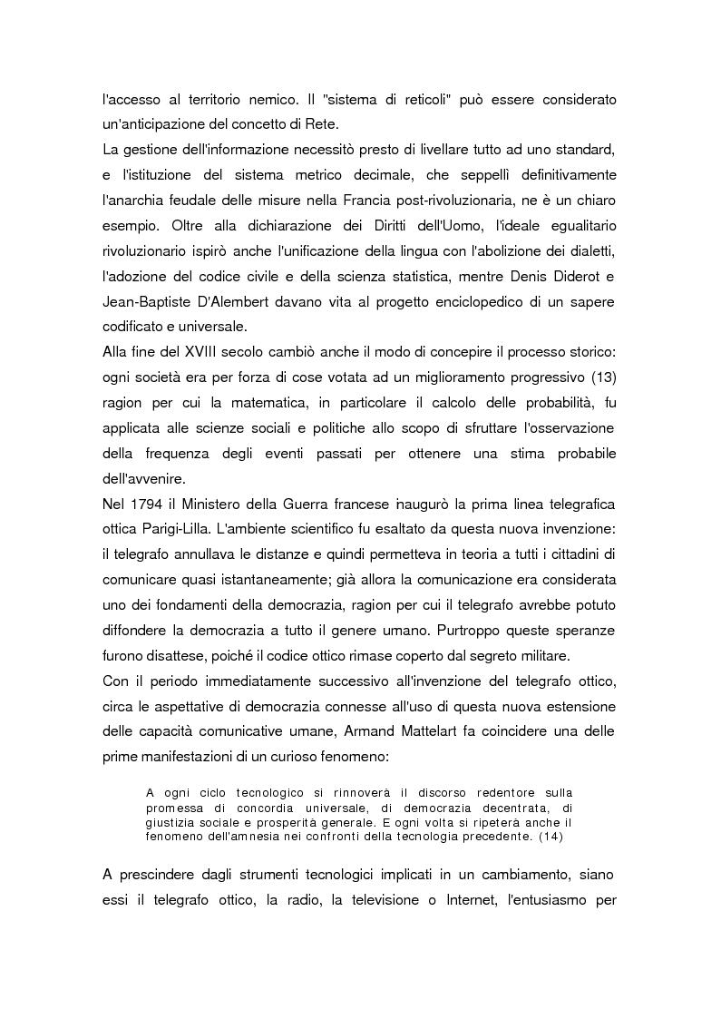 Anteprima della tesi: La società dell'informazione, Pagina 9
