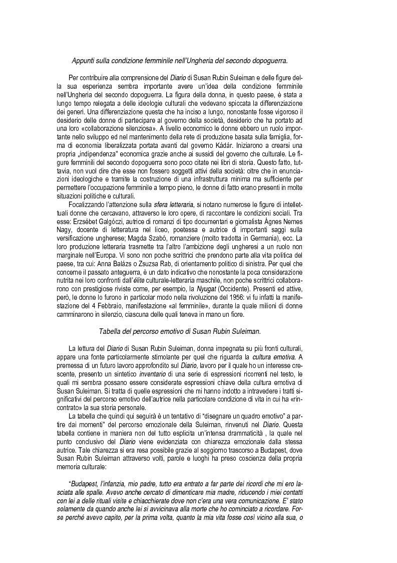 Anteprima della tesi: Budapest Diary. In Search of the Motherbook, Pagina 6