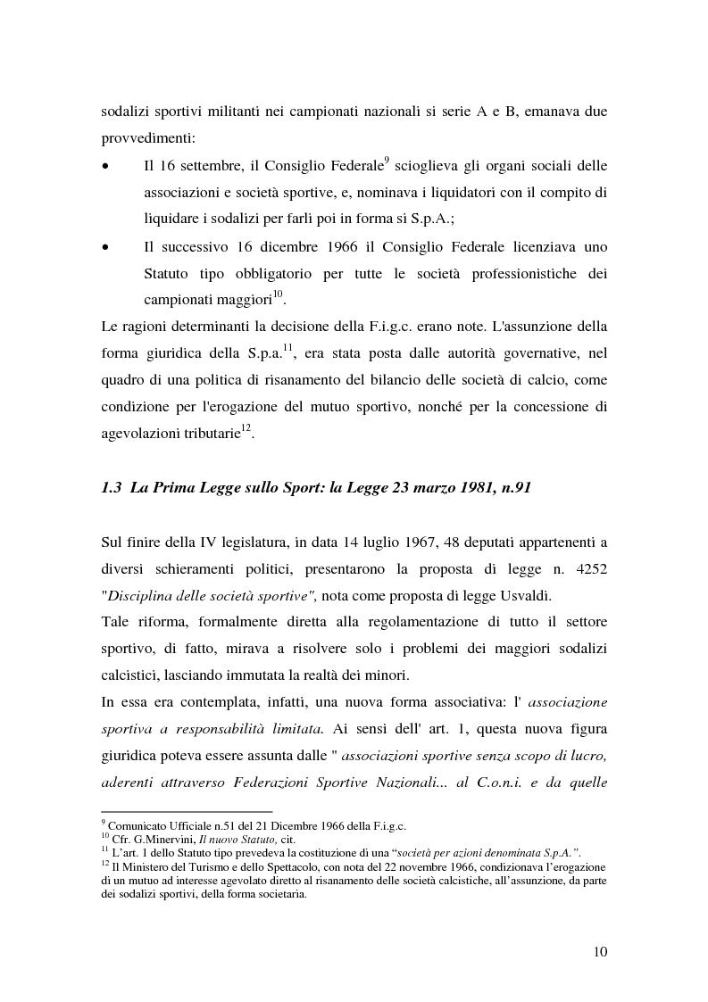 Anteprima della tesi: Il marketing delle società di calcio del 2000: analisi, strategie e scenari futuri, Pagina 10