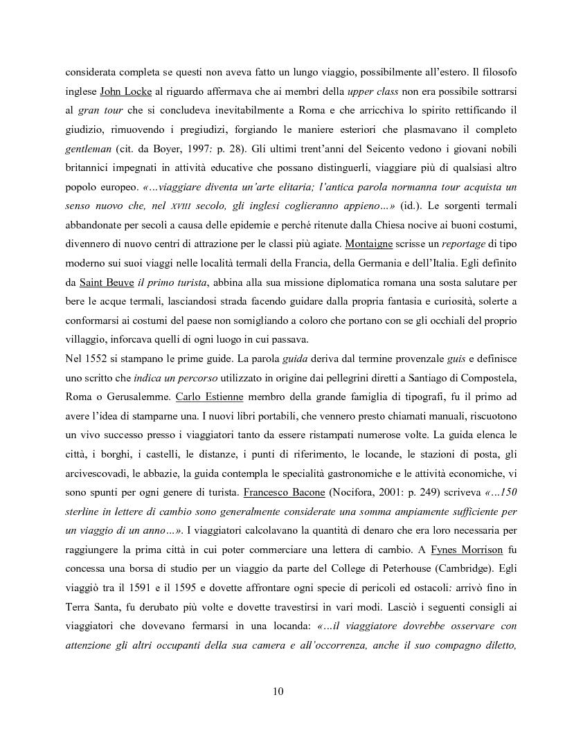 Anteprima della tesi: I villaggi turistici come forma di integrazione sociale, Pagina 10