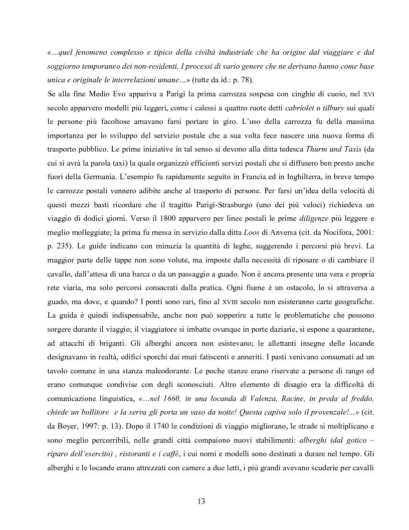 Anteprima della tesi: I villaggi turistici come forma di integrazione sociale, Pagina 13