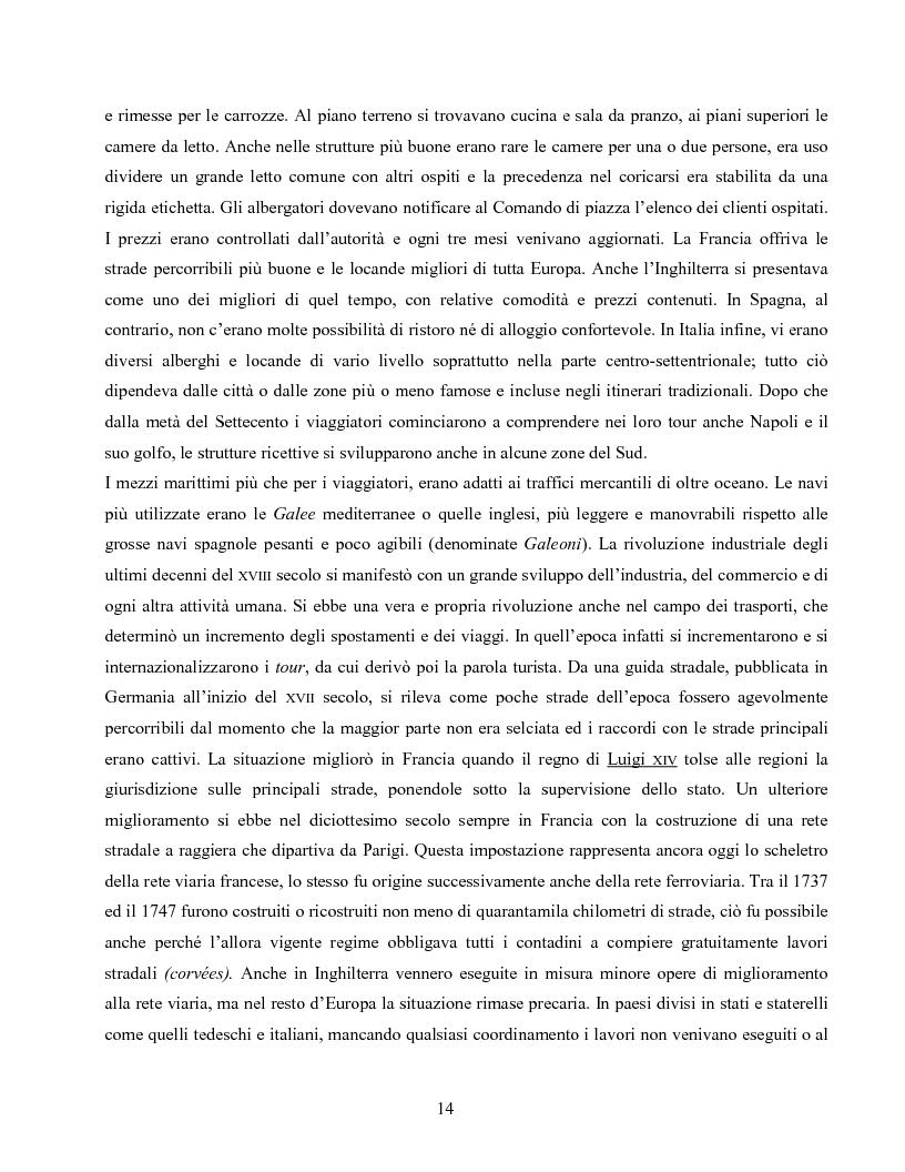 Anteprima della tesi: I villaggi turistici come forma di integrazione sociale, Pagina 14