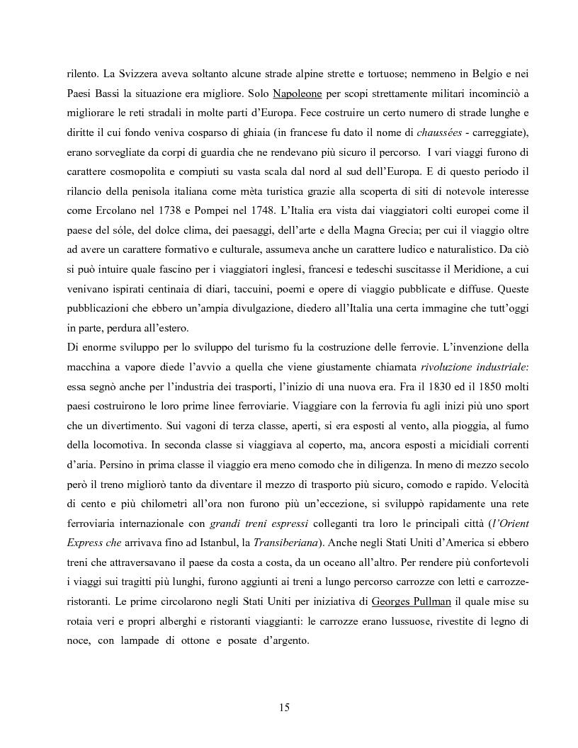 Anteprima della tesi: I villaggi turistici come forma di integrazione sociale, Pagina 15