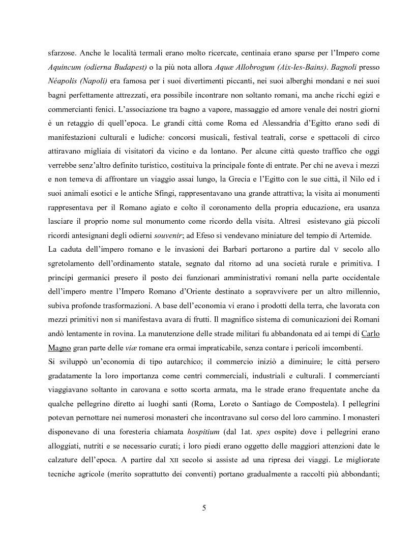 Anteprima della tesi: I villaggi turistici come forma di integrazione sociale, Pagina 5