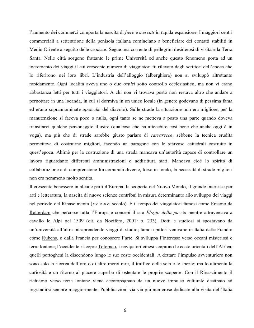 Anteprima della tesi: I villaggi turistici come forma di integrazione sociale, Pagina 6