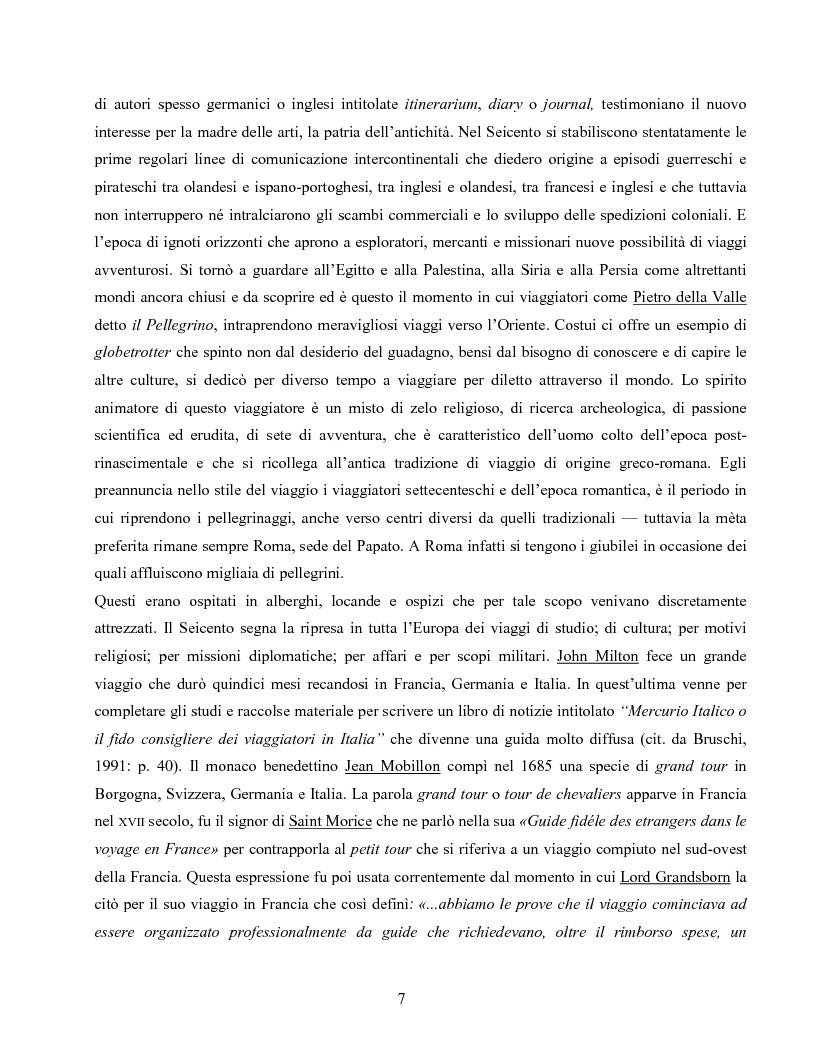 Anteprima della tesi: I villaggi turistici come forma di integrazione sociale, Pagina 7